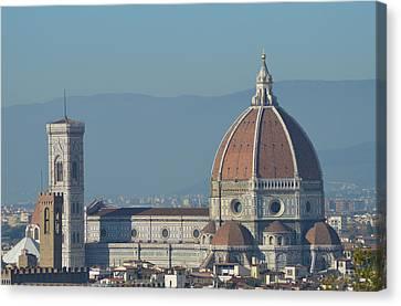 Duomo Di Firenze Canvas Print by Christian De Tomassi