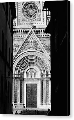 Duomo I Canvas Print by Artecco Fine Art Photography
