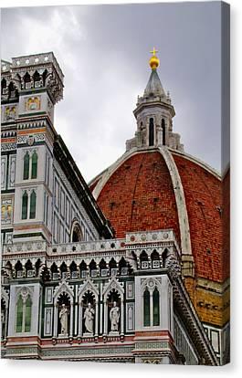 Duomo Canvas Print by Lynn Andrews