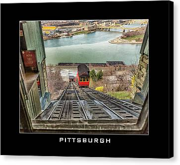 Canvas Print - Duquesne Incline by Eclectic Art Photos