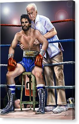 Duran Hands Of Stone 1a Canvas Print