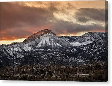 Durango Sunset Canvas Print