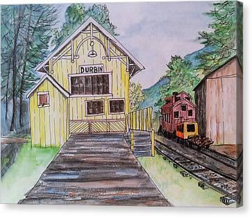 Durbin, Wv Station Canvas Print