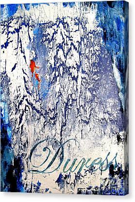 Legal Term Canvas Print - Duress by Laura Pierre-Louis