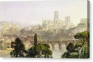 Durham Cathedral Canvas Print by George Arthur Fripp