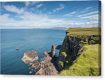 Canvas Print featuring the photograph Handa Island - Sutherland by Pat Speirs