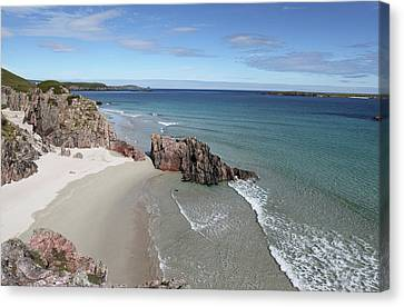 Canvas Print featuring the photograph Durness - Sutherland by Pat Speirs