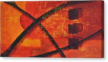 Dusk Canvas Print by Leana De Villiers