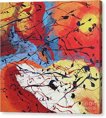 Dusk Canvas Print by Nickola McCoy-Snell