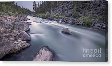 Dusk Rapids Canvas Print by Twenty Two North Photography