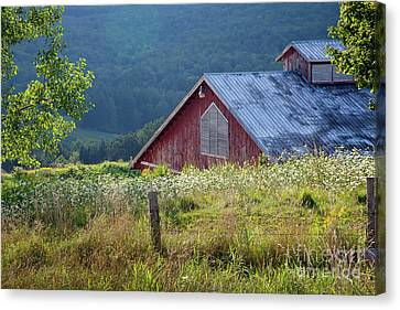 Canvas Print featuring the photograph Dusk View by Susan Cole Kelly