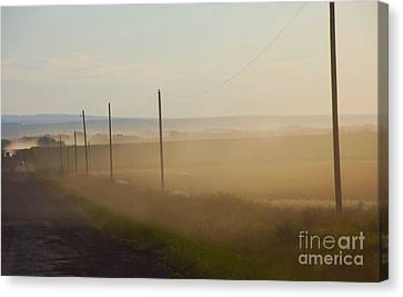 Canvas Print featuring the photograph Dust Bowl by Elaine Manley