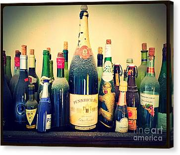 Dust On The Bottle Canvas Print