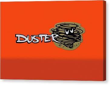Canvas Print - Duster Emblem by Mike McGlothlen