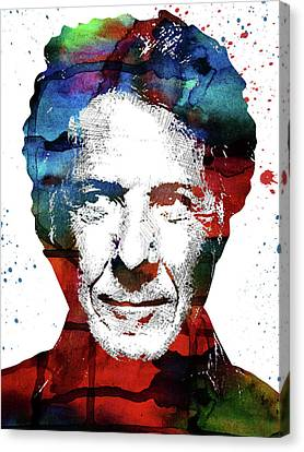 Dustin Hoffman Canvas Print by Mihaela Pater