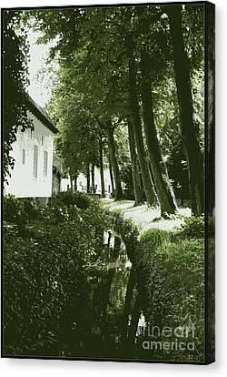 Dutch Canal - Digital Canvas Print