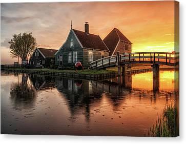 Dutch Morning Glory Canvas Print