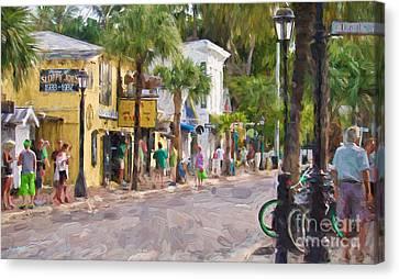 Duval Street Edition 2 Canvas Print