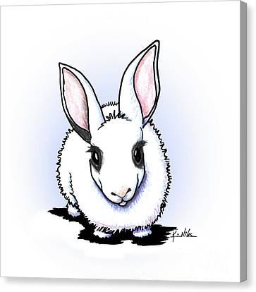 Canvas Print - Dwarf Hotot Bunny Rabbit by Kim Niles