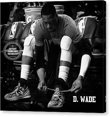Dwayne Wade Canvas Print