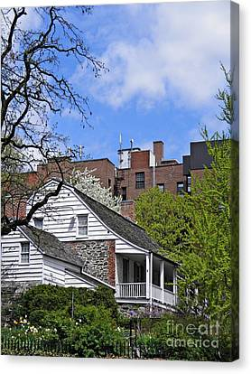 Dyckman House 2 Canvas Print by Sarah Loft