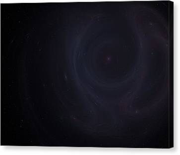 Dying Star Canvas Print by Michal Sornat