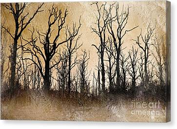 The Dying Trees Canvas Print by The Rambler