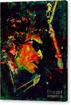Dylan Canvas Print by Greg and Linda Halom