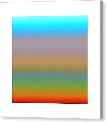 Canvas Print featuring the digital art Dynamics-1a by Darla Wood