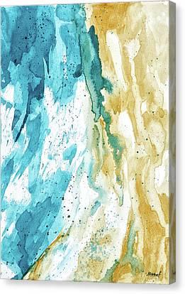 Dynamics Of Ocean Canvas Print