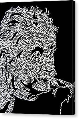 E Equals Mc Square Canvas Print by Kruti Shah