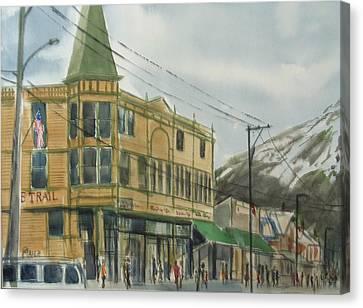 E Trail Canvas Print by Pete Maier