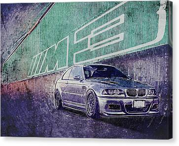 Canvas Wall Art Drag Racing E36 M3 Sport Car Posters Canvas Art Prints Wall Art Paintings For Living Room Decor