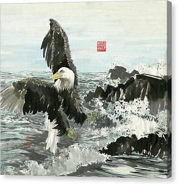 Eagle - 25 Canvas Print