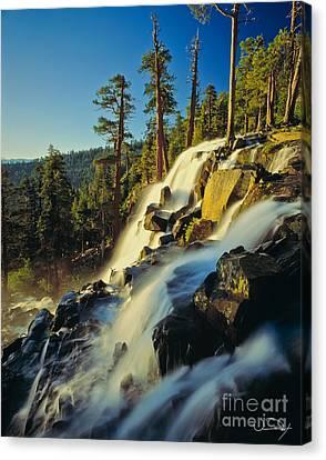Eagle Falls Lake Tahoe Canvas Print by Vance Fox