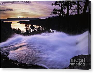 Eagle Falls Morning Canvas Print by Buck Forester