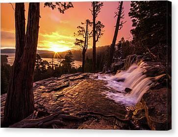 Eagle Falls Sunrise Canvas Print