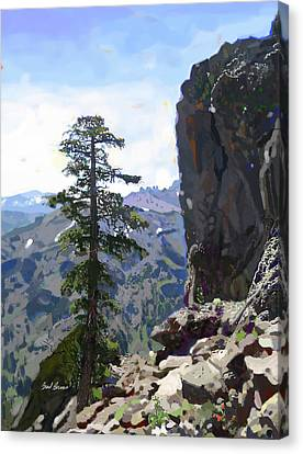 Eagle Peak Canvas Print