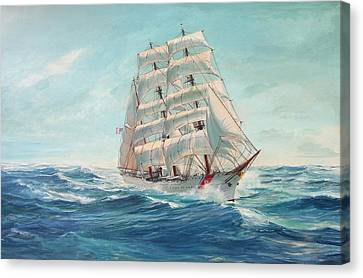 Sailing Eagle Canvas Print