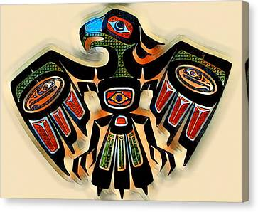 Eagle Symbol 2 Canvas Print