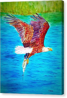 Eagle's Lunch Canvas Print