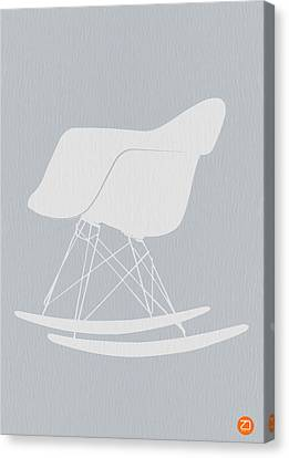 Eames Rocking Chair Canvas Print by Naxart Studio