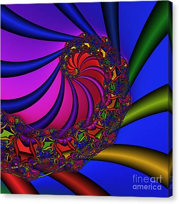 Ear Harp 176 Canvas Print by Rolf Bertram