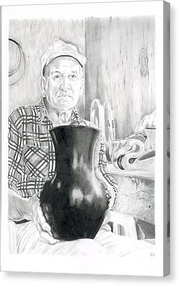 Earl Canvas Print by Chris Randall