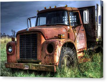 Earl Latsha Lumber Company Version 3 Canvas Print by Shelley Neff