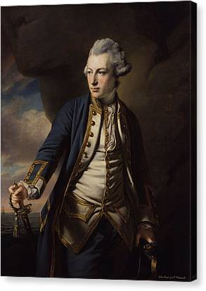 Earl Of St Vincent Canvas Print by MotionAge Designs