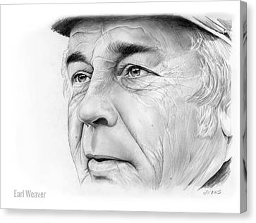 Earl Weaver Canvas Print