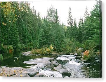 Early Autumn On The Madawaska River Canvas Print