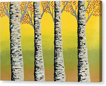 Early Autumn Canvas Print by Sumit Mehndiratta