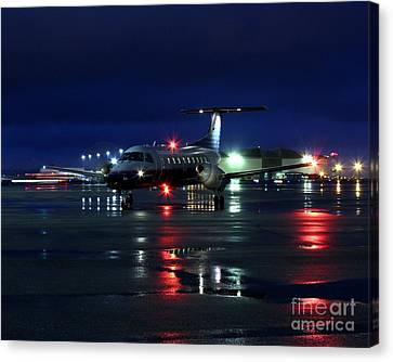 Canvas Print featuring the photograph Early Bird by Alex Esguerra